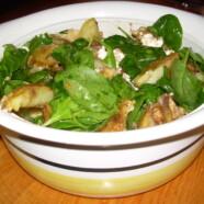 Varm potatissallad med parmesan