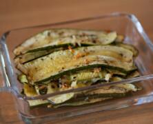 Zucchini med vitlök